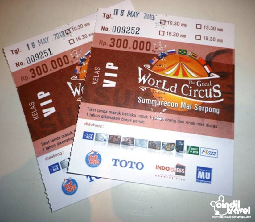 The Great World Circus Summarecon Mall Serpong 2