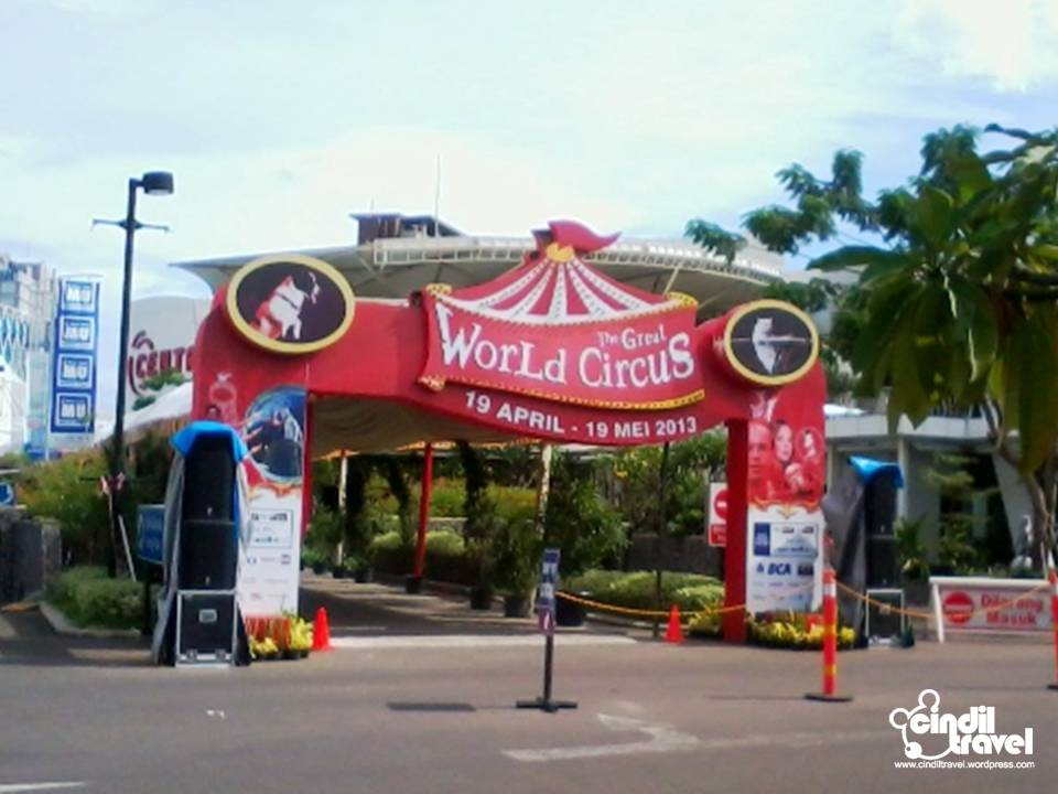 The Great World Circus Summarecon Mall Serpong 3